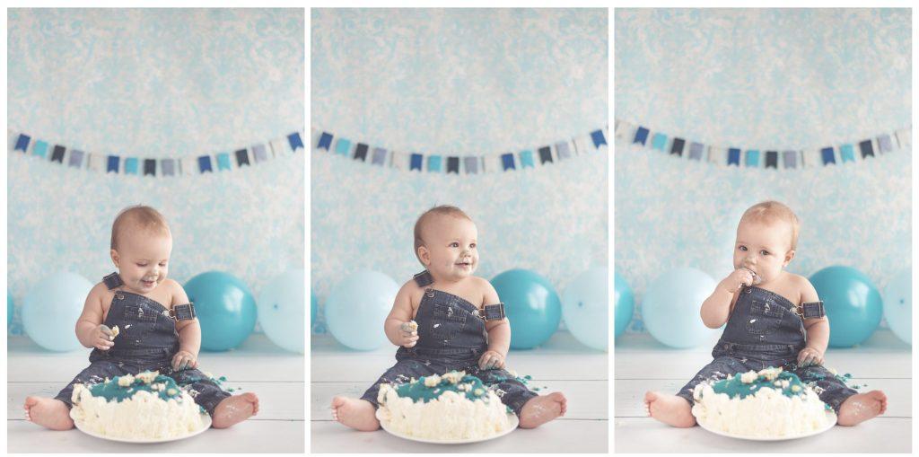 cake smash 1 års fødselsdag